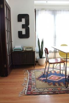 Do numbers have a place in your home? Learn how to decorate with them @BrightNest Blog