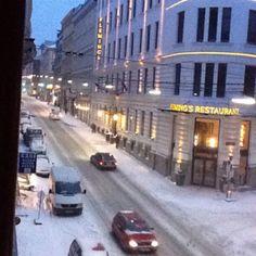More snow in the Josefstadt