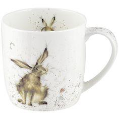 Royal Worcester Wrendale Good Hare Day Mug ~ $10.00 at johnlewis.com