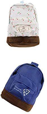 b98c1f2b04a9 Amazon.com  MagiDeal 2Pcs 1 6 Scale Dark Blue  White Backpack Shoulder