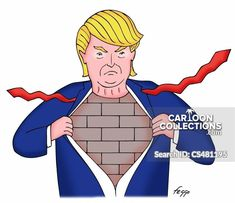 Trump's Wall Trump Wall, Trump Cartoons, Collections, Prints