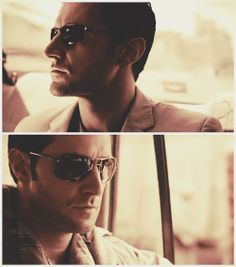 Richard in Iraq with John Porter and in Sunglasses!