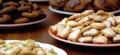 Christmas Toffee Bark and Cookie Swap Printables Basic Cookie Recipe, Basic Cookies, Healthy Cookie Recipes, Holiday Cookie Recipes, Homemade Cookies, Healthy Cookies, Holiday Cookies, Low Carb Recipes, Healthy Baking