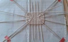 Поделка изделие Плетение Коробулька Трубочки бумажные фото 12