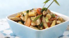 Chicken chop suey – World Food Chop Suey, Asian Recipes, Ethnic Recipes, Frisk, Dim Sum, Kung Pao Chicken, Wok, Chinese Food, Pasta Salad