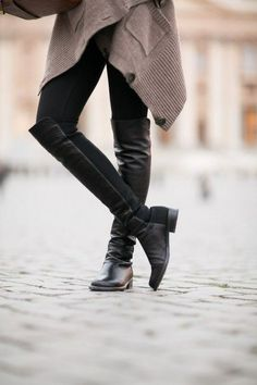 I pulled a Wendy today, with the black leggings, long top, tall boots look, only hers are $595 and mine that look exactly the same were twenty dollars from shoe dazzle. see my deals and steals board for more money saving moves.