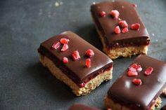 Mazurek malinowy z czekoladą | Natchniona | Bloglovin'
