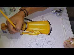 Aprenda a pintar ROSAS e Folhas