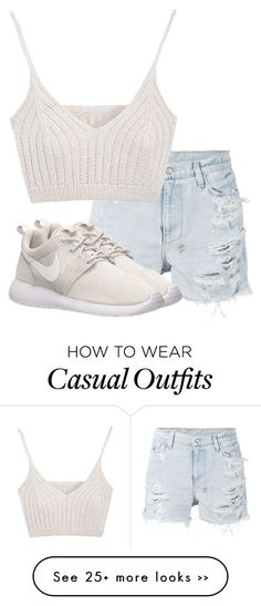 """""""Untitled #2789"""" by xirix on Polyvore featuring Ksubi and NIKE"""