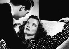 Katherine Hepburn & Cary Grant. (Bringing Up Baby, 1938).