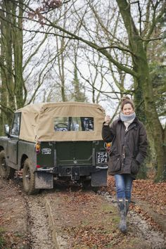 Landrover Defender, Land Rover Defender 110, Defender 90, Land Rover Santana, British Country Style, 4x4, Barbour Jacket, Off Road, Country Fashion