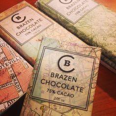 Bean-to-bar chocolate - Brazen Chocolate