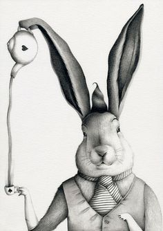 March Hare - Ilustrarium: Contemporary Illustration Gallery, Affordable Art for all Audiences
