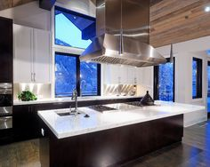 Modern Black And White Kitchens Design, Pictures, Remodel, Decor and Ideas - page 2