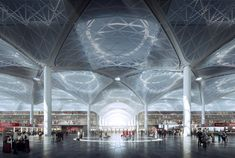 Architecture For Future — Grimshaw unveils worlds largest airport terminal under one roof for Istanbul