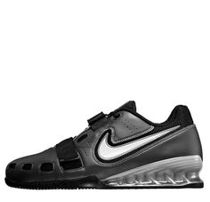 01816f30494 Nike Romaleos 2 Weightlifting Shoes (Black) - Iron Edge Workout Gear