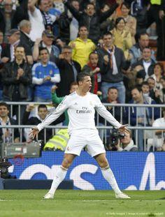 Ronaldo celebrating his goal; Real Madrid 3 Levante 0 (9/3/2014)