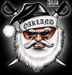 Raiders Santa ☠️