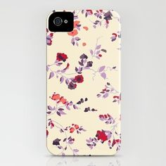 Carcasa de flores pequeñas (Iphone)
