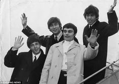 1 / 12  Jimmie Nichol, pictured in the white coat toured with The Beatles in 1964 when Ringo was ill