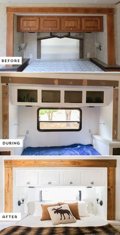 The Best Rv Camper Hacks Makeover Remodel Interior Ideas Best Decorating Rv Camper Makeover - Camper And Travel penitifashion Camper Hacks, Diy Camper, Rv Campers, Camper Trailers, Rv Hacks, Camper Van, Travel Trailers, Camper Ideas, Rv Travel