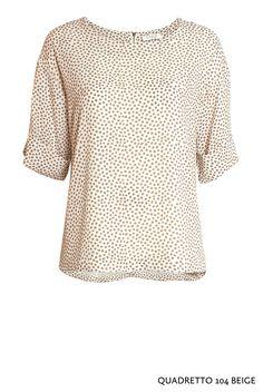 Quadretto 104 Beige von KD Klaus Dilkrath #kdklausdilkrath #kd12 #kd #quadretto #beige #104 #shirt #top #quater #top #blouse #outfit  #kdklausdilkrath #kd #dilkrath #kd12 #outfit