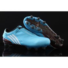 new styles 4eac5 08ccc Adidas F50i TUNIT Start Kit Boots Blue white Adidas F50 Tunit, Mens Soccer  Cleats,