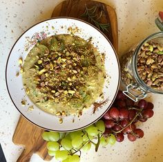 The Modelfood Diary: Italian overnight Pistachio Porridge with orange & thyme