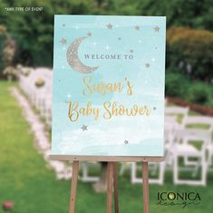 Twinkle Twinkle Welcome Sign  Little Star Welcome Baby Sign