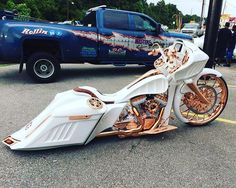 "3,170 Likes, 53 Comments - Bagger Militia (@baggermilitia) on Instagram: ""@_powerhouseroxx_ newest creation #baggermilitia #militiaindustries"""