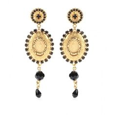 Dolce & Gabbana Clip-on Earrings (2.020 BRL) ❤ liked on Polyvore