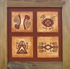 los cuatro elementos Contemporary Art Daily, Contemporary Artists, Native Indian, Indian Art, Desert Art, Native Design, Ancient Jewelry, Dot Painting, African Art
