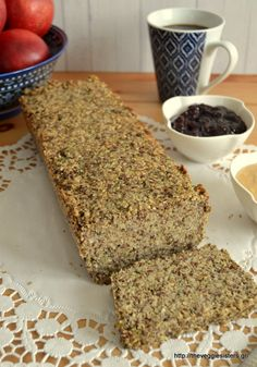 βρώμη Archives - The Veggie Sisters Buckwheat Bread, Vegetarian Recipes, Cooking Recipes, Diet Recipes, Healthy Recipes, Dutch Oven Bread, Brunch, Bread And Pastries, Healthy Sweets
