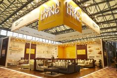 Urban Living Stand in Furniture China 2018 (China). Exhibition Stand Builders, Exhibition Stand Design, Service Design, Europe, China, Urban, Furniture, Exhibition Stall Design, Home Furniture