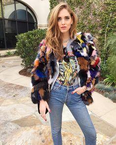Santa Barbara in my favorite Eaves fur coat @revolveclothing #RevolveAroundTheWorld #TheBlondeSaladGoesToSantaBarbara
