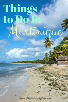 Gorgeous beaches, loads of history and great food make the French Caribbean island of Martinique a must visit. Check out these things to do and travel guide to Martinique! Caribbean Vacations, Caribbean Cruise, Royal Caribbean, Places To Travel, Travel Destinations, Places To Go, Cayman Islands, Island Beach, Exterior