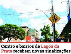 No intuito de melhorar o trânsito, uma empresa foi contratada pela Administração Municipal para organizar a sinalização das ruas de Lagoa da Prata. Saiba mais:http://www.jornalcidademg.com.br/centro-e-bairros-de-lagoa-da-prata-recebem-novas-sinalizacoes/