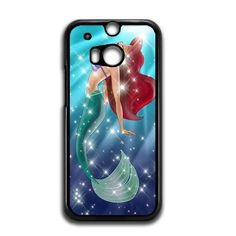 Ariel Little Mermaid Galaxy HTC One M8 Case