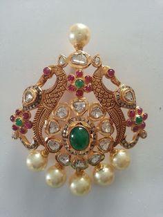 south sea pearls mala with diamond pendant - Google Search