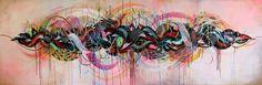 Supakitch y Koralie son dos artistas provenientes de Francia que han unido sus habilidades para formar un dúo dinámico de arte urbano.