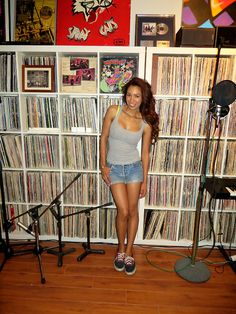 Amy loves U!  Check out Amy at Soundmind Industries studio!