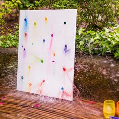 Kids will love this summer fun activity! Watch magic, colorful art come alive before your eyes with this easy tutorial for water balloon watercoloring. Fun Summer Activities, Water Activities, Happy Summer, Summer Fun, Water Balloons, Summer Heat, Teaching Art, Kids Playing, Art Projects