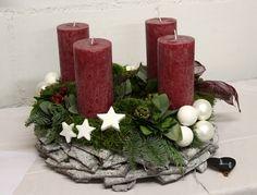 Bloemschikken Rosalie: Bloemschikken Advent en Kerst 2015 - 4. Adventkrans