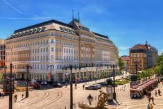 Set in a historic building dating back to the century, Radisson Blu Carlton Hotel is is located directly in the city center of Bratislava. Heated Bathroom Floor, Carlton Hotel, Bratislava Slovakia, Vacation Packages, Louvre, Street View, World, City, Building