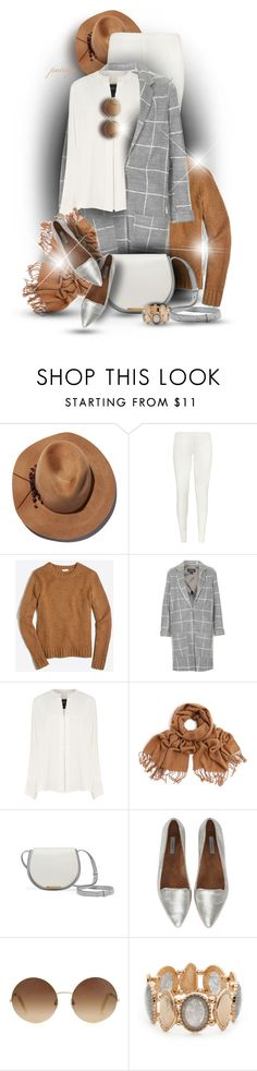 """""""Check that Print"""" by rockreborn on Polyvore featuring Eugenia Kim, WearAll, J.Crew, Topshop, Derek Lam, Jigsaw, Victoria Beckham and Ruby Rd."""