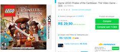 Jogo LEGO Pirates of the Caribbean: The Video Game para Nintendo 3DS << R$ 2990 >>