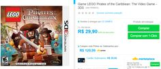 Jogo LEGO Pirates of the Caribbean: The Video Game para Nintendo 3DS << R$ 2990 >>