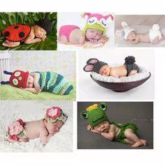 Newborns Menino E Meninas Conjuntos E Toucas - Art Crochê - R$ 48,90