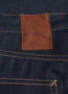 Slim Jean // Billy Reid // Made in the USA