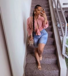 Curvy Outfits, Dope Outfits, Girl Outfits, Casual Outfits, Summer Outfits, Fashion Outfits, Girl Fashion, Fashion Styles, Fashion Killa